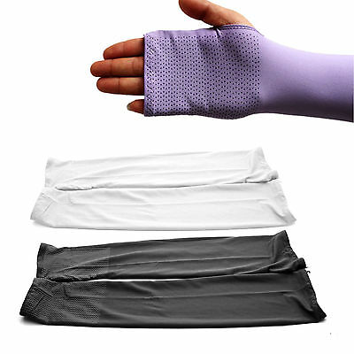 Outdoor Sports Anti-UV Long Sleeves Gloves Fishing Riding Arm Protector Cover