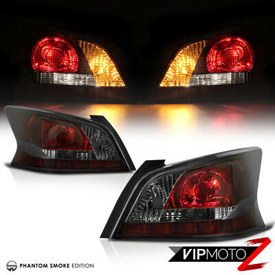 """FACTORY STYLE"" Smoke Tail Lights Lamps Replacement Fit 2013-2015 Nissan Altima"