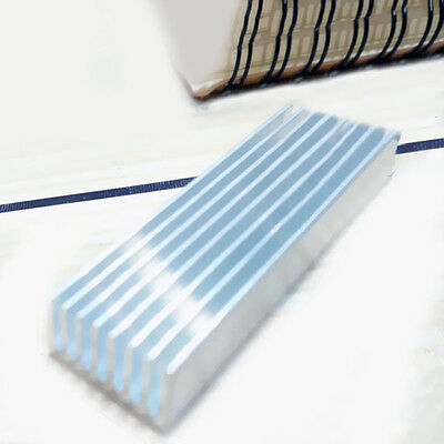 Buy Silver Tone Aluminum Radiator 100*20*6MM Heatsink Cooling Fin 10 pieces SP92