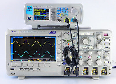 New 30MHz Dual-channel DDS Arbitrary Waveform Function Signal Generator Counter