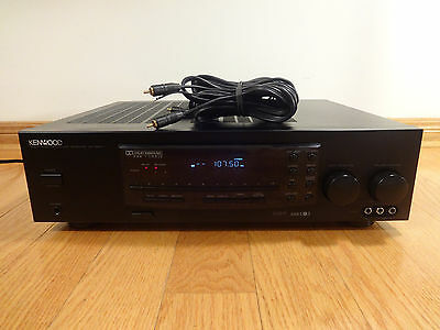 Kenwood KR-300HT Audio/Video Surround Sound System Receiver TESTED 100% NICE!