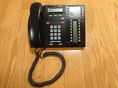 Northern Telecom T7316 NT28B27AABA Charcoal Business Office Telephone CLEAN