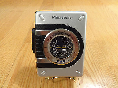 Panasonic RQ-V75 AM/FM Stereo Radio Cassette Player TESTED 100% Like NEW!