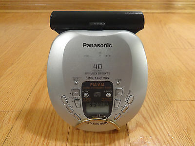 Panasonic SL-SX469V FM/AM Portable Compact Disc Player Japan TESTED 100% Works!