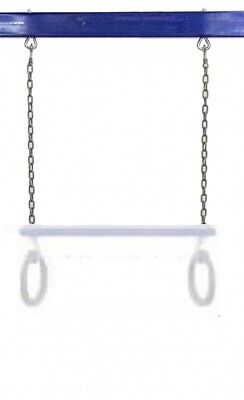 Replacement Trapeze Chain Hills Compatible Tree Top Pair Green Coated Playground