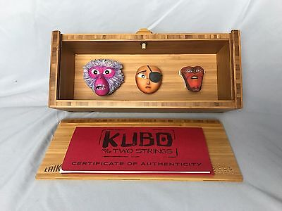 Kubo and the Two Strings LAIKA Original Animation Faces COLLECTIBLE #34 of #275
