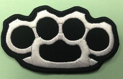 Verzamelingen Knuckle Duster  Rings Biker Applique Iron on embroidered patch