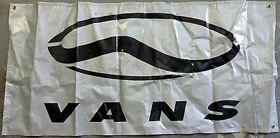 VANS Shoes Display Banner Logo From 1990's-2000's  Snow Summit Snowbarding Event