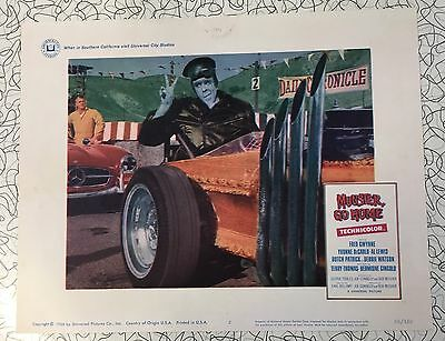 Munster Go Home lobby card Fred Gwynne Herman 1966 Movie