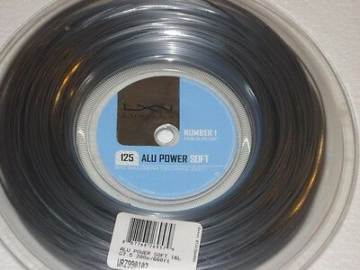 Luxilon ALU Power Soft 125/16L  200m Reel Tennis String - 1.25mm Big Banger
