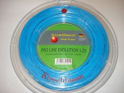 Kirschbaum Evolution Tennis String 200m Reel - Gauge 17 / 1.25mm
