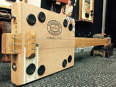 Buzz Box Cigar Box Guitar - Partagas Cigar Box