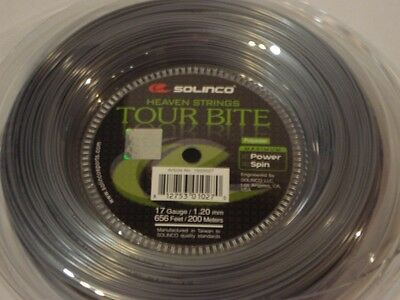 Solinco Tour Bite 200m Reel 17/1.20mm tennis String