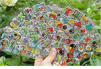 Wholesale 3D Kids cartoon Stereoscopic Puffy Sticker decoration Lot Of Gift Toys