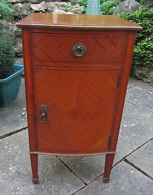 PRICE REDUCTION ...Beautiful Edwardian small veneered occasional cupboard