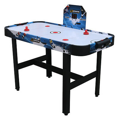Stats 4ft Air Hockey Table, Indoor Arcade Style Air Hockey Games Table