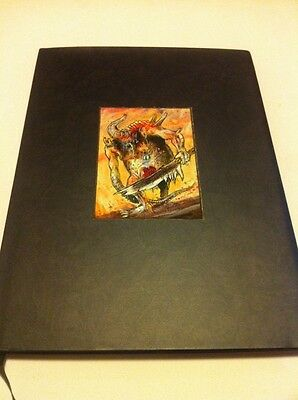 Warhammer Fantasy Limited Edition Chaos Daemons Army Nurgle Hardcover Codex !!!