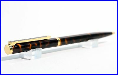 Tortoise China Lacquer & Gold Montblanc made DUNHILL fountain ballpoint pen