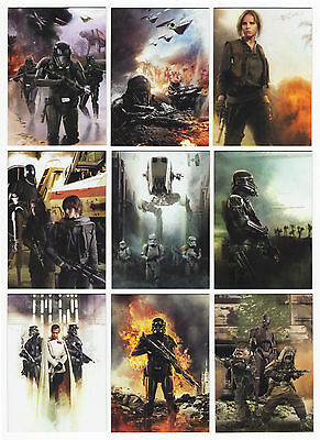2016 Topps Star Wars Rogue One Mission Briefing 189 Trading Card Mini-Master Set