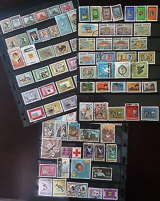 TransJordan Jordan Stamps collection 1950's to 1990's, . Bargain #13