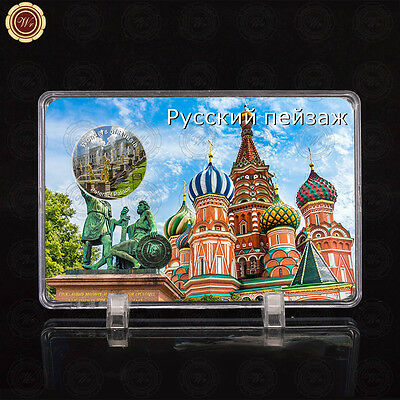 WR Wonders of Russia Peterhof Palace Silver Coins Collectors /w Free Display