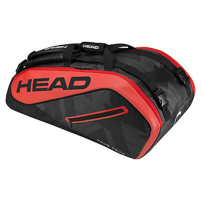 HEAD TOUR TEAM 9R MONSTERCOMBI Tennistasche Racket Bag für 9 Schläger 283447