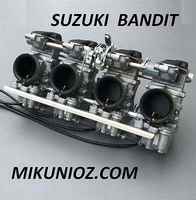 Suzuki GSF Bandit, GSXR Liquid Cooled Mikuni RS 38 Smoothbore Carburetor Kit