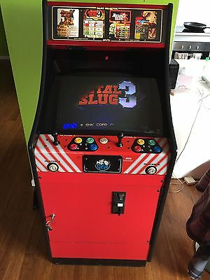 Neo Geo Arcade Machine + Games