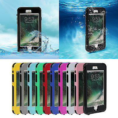 IP68 Waterproof Shockproof Full Body Protective Case Cover For Iphone 7 Plus UK
