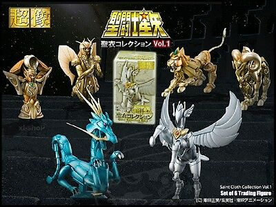 Medicos Saint Seiya Cloth CollectionVol. 1 Virgo Leo Aries Aquarius  6 Pcs Set