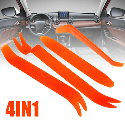 4X Popular Auto Car Radio Door Clip Panel Trim Audio Removal Installer Pry Tool