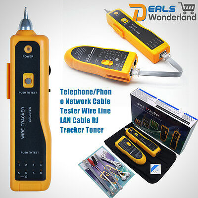 Telephone/Phone Network Cable Wire Line LAN Cable RJ Tracker Toner Tester Tracer