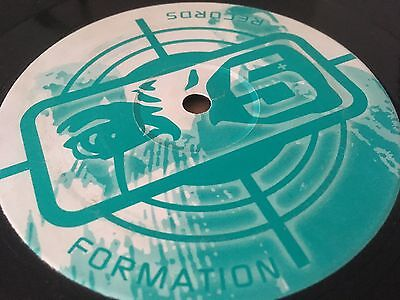 """10 X Formation Records Collection 12"""" Vinyl Bargain Records Pack Drum and Bass"""