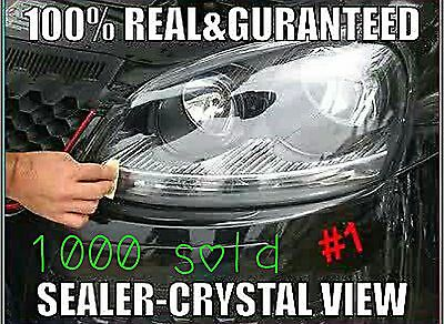 Super Strong 2000)Car☆Headlight Lens Restoration Kit☆Restore☆Cleaner☆Clear☆Renew