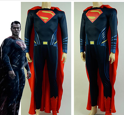 Superman costume,replica,cosplay,handmade,halloween,all size,