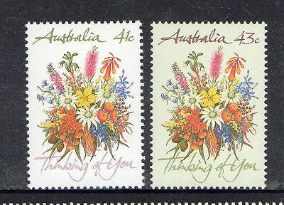 Australia 1990-Thinking Of You Complete Set Of 2 Muh