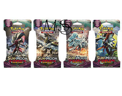 Pokemon Sun and Moon Guardians Rising Blister Booster Pack * Brand New *