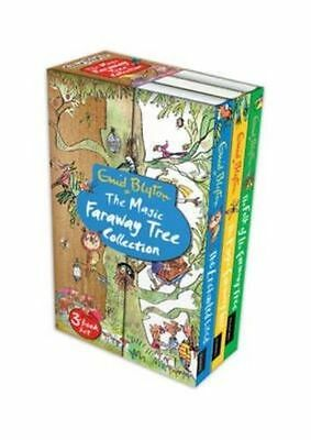 Enid Blyton: THE MAGIC FARAWAY TREE COLLECTION Box set x 3 NEW  Immediate Post