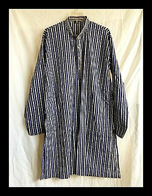 Indian Traditional Striped Cotton Kurta Men's Designer Casual Ethnic Wear Kurta