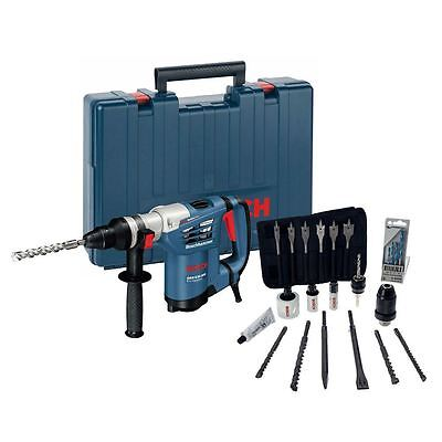 Bosch GBH4-32DFR Multi-Drill Rotary Hammer 240v and Accessories