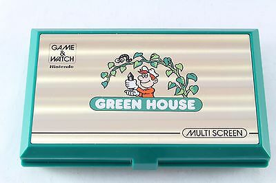 Nintendo Game and & Watch Green House Widescreen Fully Tested GH-54 Multi Screen