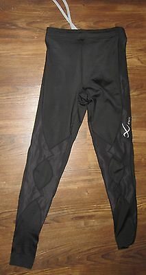 NEW CW-X Expert Compression Black Tights Pants, Style# 120809, Size XS, Reg $80