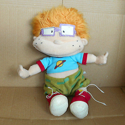 Nickelodeon Rug Rats Character Plush Hand Puppet Chuckie Rugrats toy