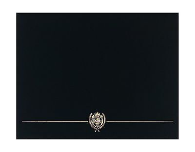 Great Papers! Black Classic Certificate Cover 12 x 9.375 Inches 5 Count (9031...