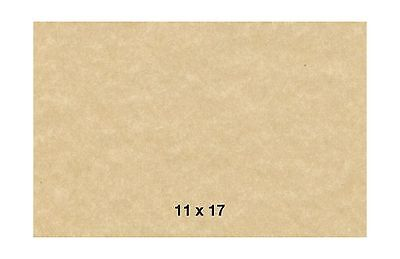 Aged Stationery Parchment Paper 60 Text 11 X 17 Inches 50 Sheets (Aged) Aged NEW