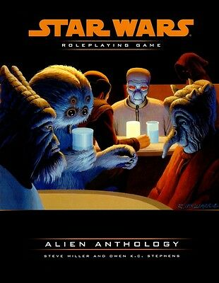 Star Wars-Alien Anthology-Sourcebook-Roleplaying Game-RPG-d20-Neu-New-very rare
