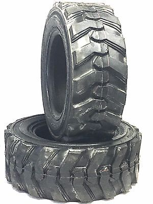 (2) 23x8.50-12 12ply Skid Loader Tire 23x8.50x12 Compact Tractor New Tires