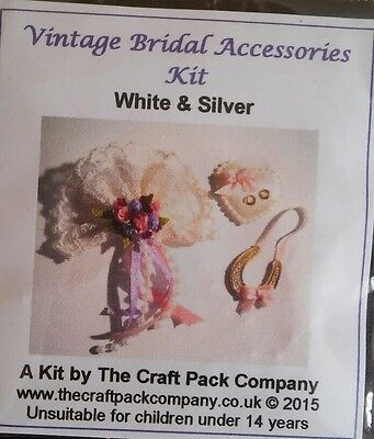 1/12th Scale Vintage Bridal Accessories  Craft Kit