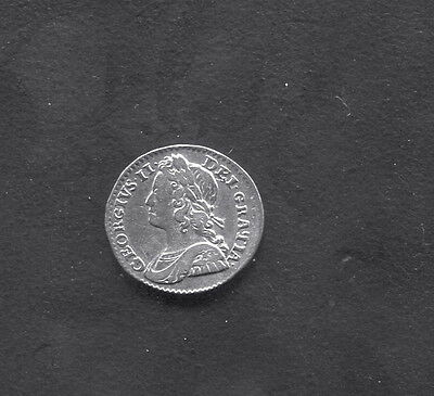 Great Britain - Fantastic George Ii Silver Twopence, 1740 - S.3714 A