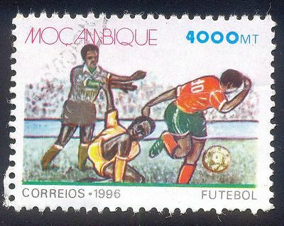 Mozambique 4000Mt  Used Stamp 31956  1996 Football